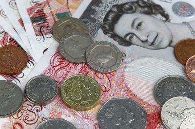 Money british pounds