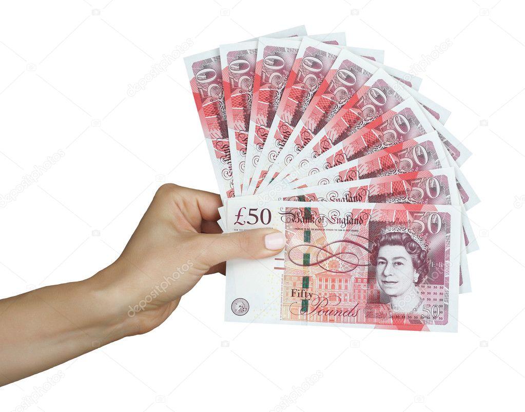 UK money british pounds — Stock Photo © Stockr #30219135