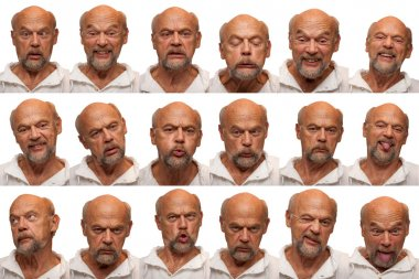 Expressions - Senior Aged Man