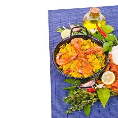 Traditional spanish rice - paella
