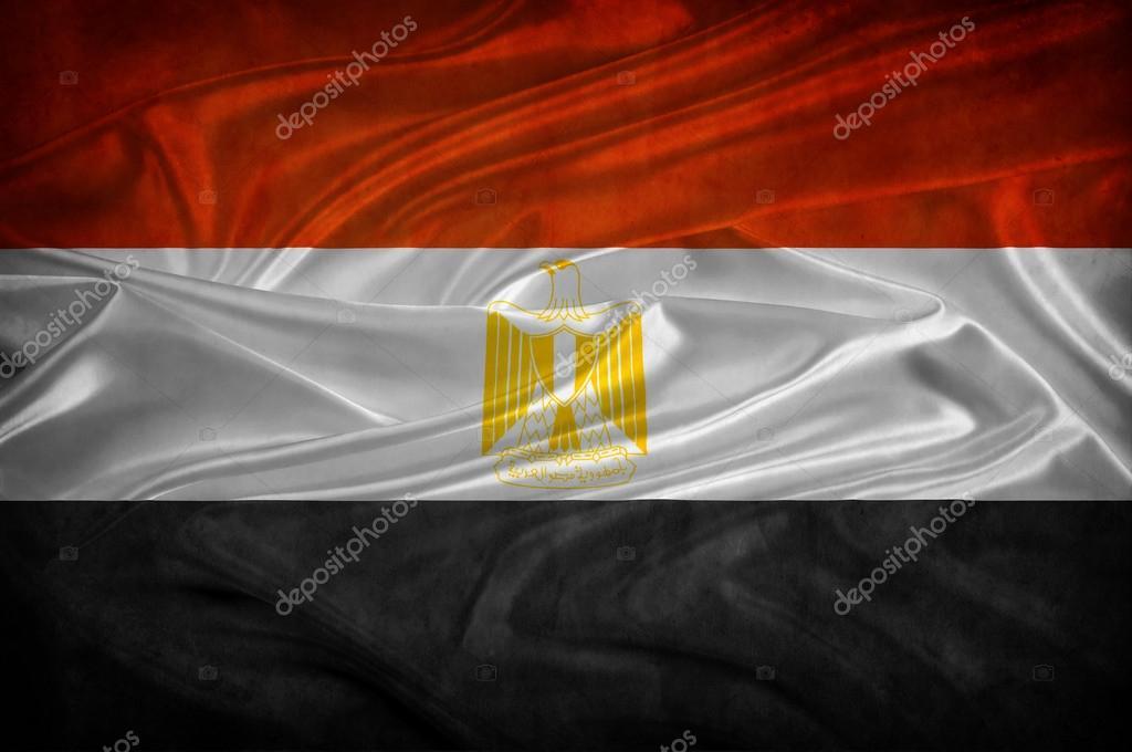 エジプトの国旗 — ストック写真 ...