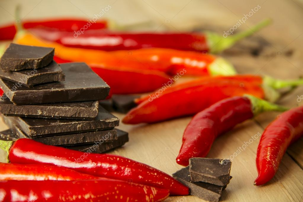 Chocolate and Chili Peppers