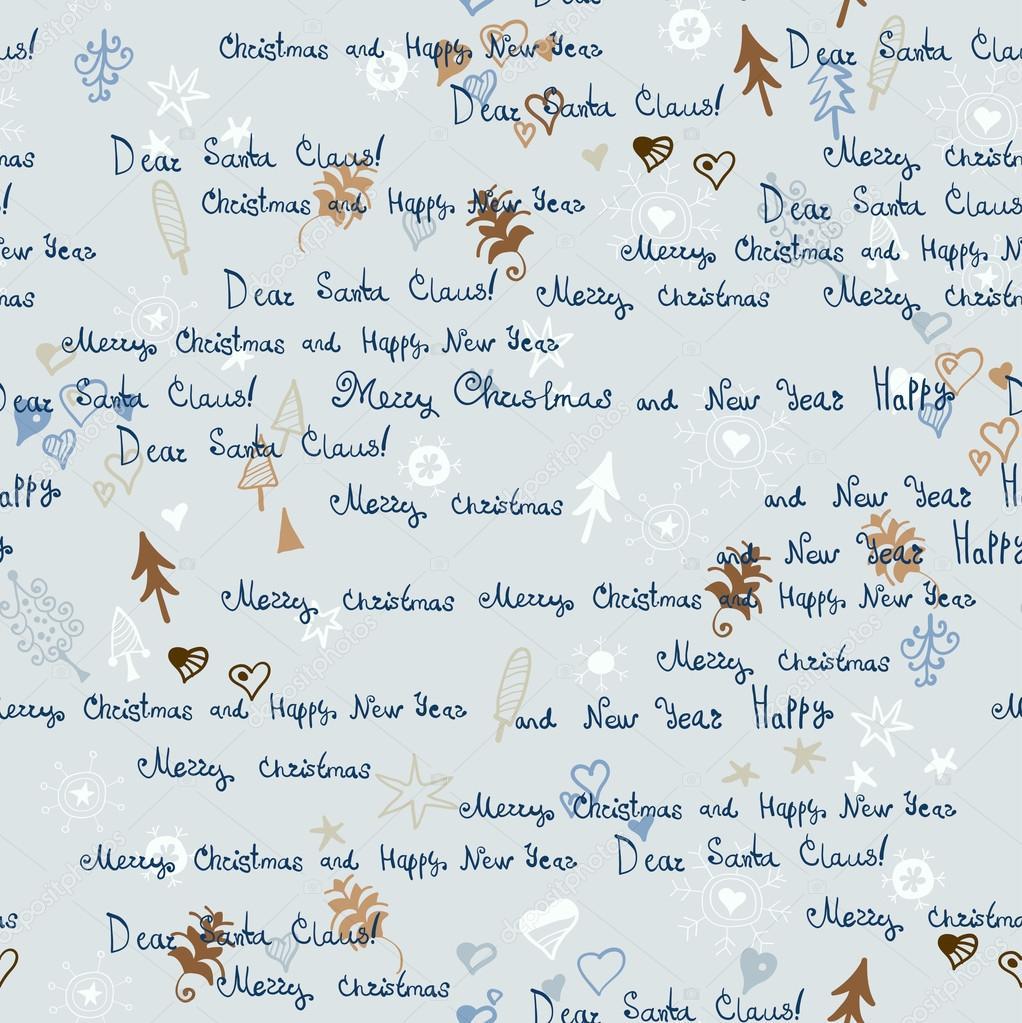Weihnachten Muster Brief An Den Weihnachtsmann Stockvektor