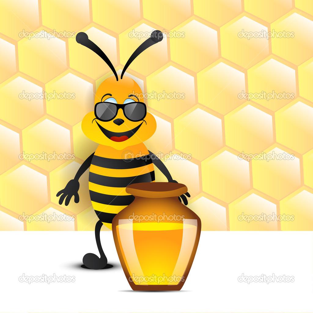 Пчелы картинки прикольные