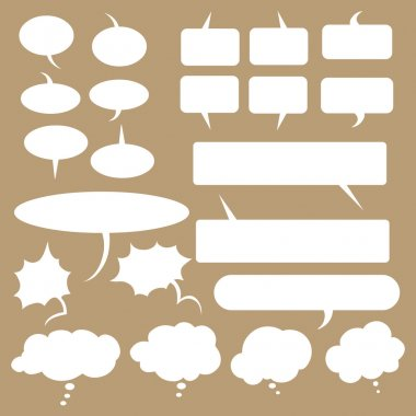 Talk and think vector bubbles