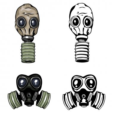 Vector gas mask