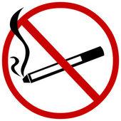 Vector sign: no smoking