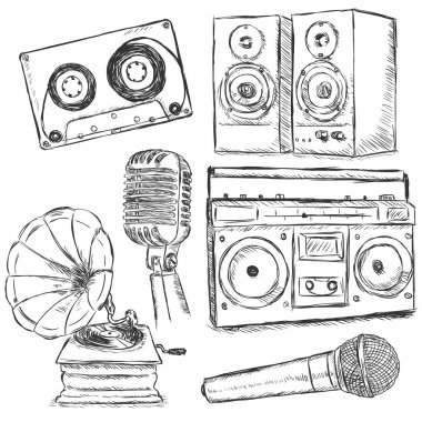 Vector Set of Sketch Music Object