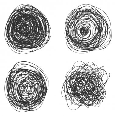 Vector Abstact Chaotic Round Sketch