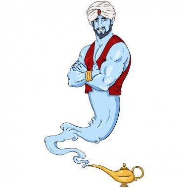 Genie and Magic Lamp