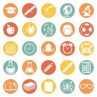 School Icons.