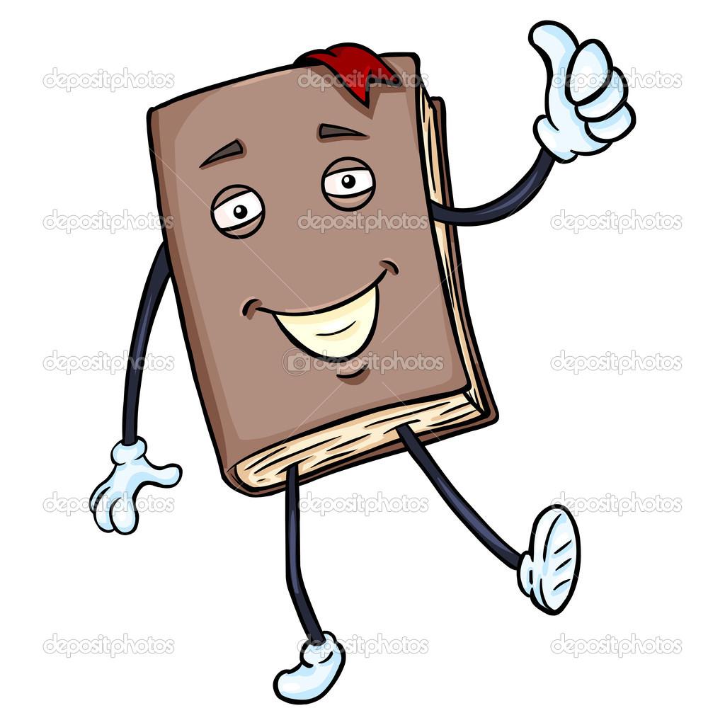 lively brown book stock vector nikiteev 49512519