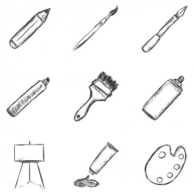 Sketch Drawing Icons