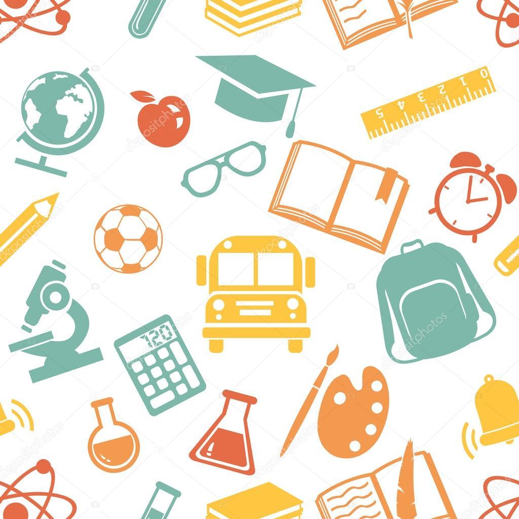 School symbols stock vector nikiteev 50187425 school symbols stock vector buycottarizona Image collections