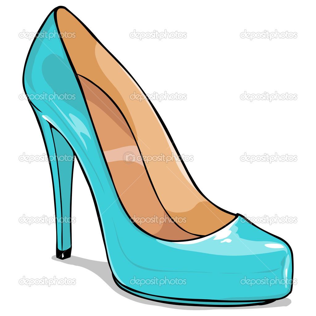 zapato mujer de dibujos animados vector de stock show vectors form a basis show vectors are orthonormal