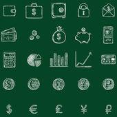 financí ikony