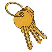 Fotografie Modern Keys Bunch