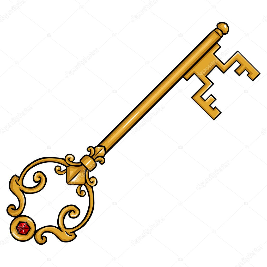 Vector Key Illustration: Stock Vector © Nikiteev #51286747