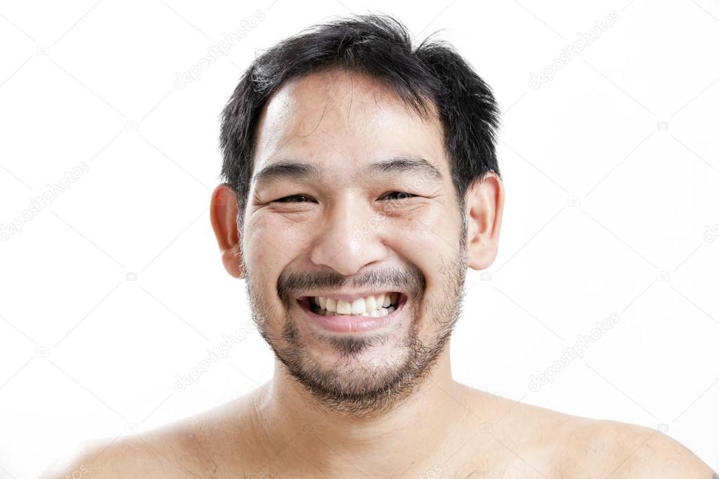 Mann Gesicht