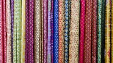 Multicolor textile background