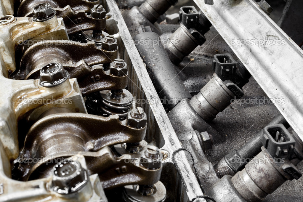 Auto-Motor-Teile — Stockfoto © AppleEyesStudio #31689479