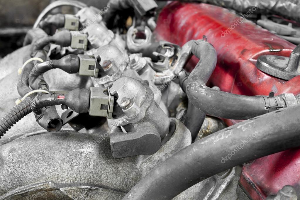Auto-Motor-Teile — Stockfoto © AppleEyesStudio #31691185
