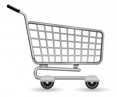 Shopping cart icon stock vector