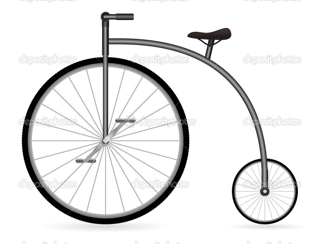 Znalezione obrazy dla zapytania starodawny rower