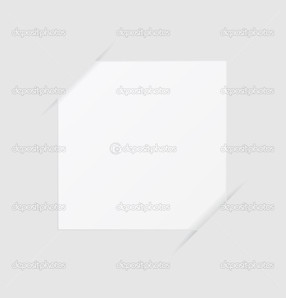 Hinweis Papier leere Vorlage — Stockvektor © igarts #29694219
