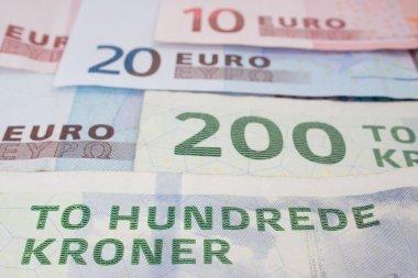 Danish and european money
