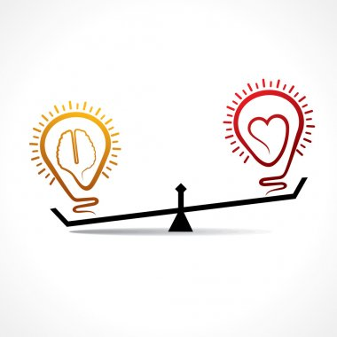 Brain is more powerful than heart