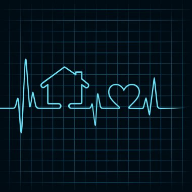 Heartbeat make a home and heart