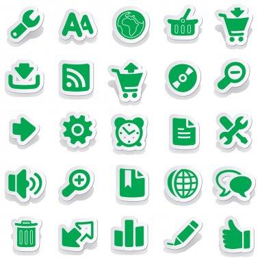 Sticker icon sticker label sticker vector sticker tag stickers set icon set icons icon collection