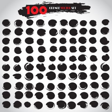 Grunge Vector Set 100 Grunge Texture Grunge Background Circle