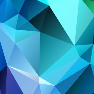 Polygon 3d Abstract background colorful vector illustration