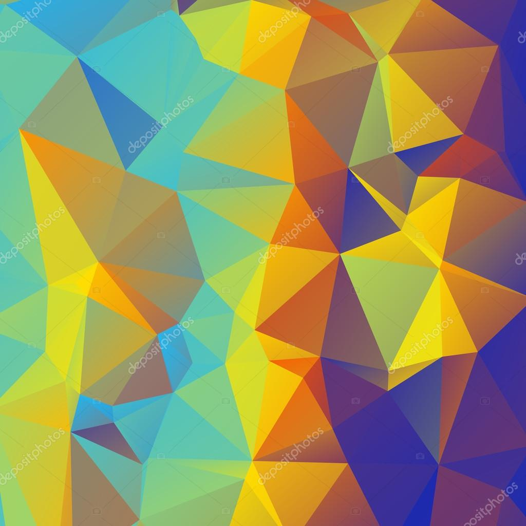 Pics photos 3d colorful abstract background design - Polygon 3d Abstract Background Colorful Vector Illustration Polygon Pattern Hexagon Triangle Origami Geometric Shapes Futuristic Octagon Vector By