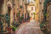 staré město pienza, Toskánsko mezi Sienou a Řím