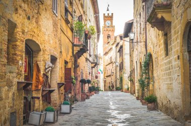 Old Town Pienza, Tuscany between Siena and Rome