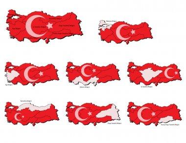 Turkey provinces maps