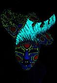 ultrafialové masku a čepice