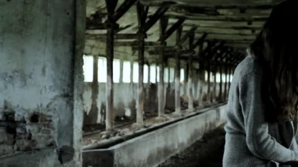 Mentális betegségek kínzó magányos fiatal nő koncepció Hd