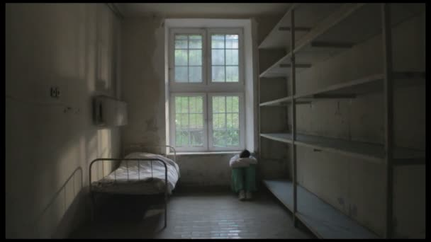 Depression, man in empty room