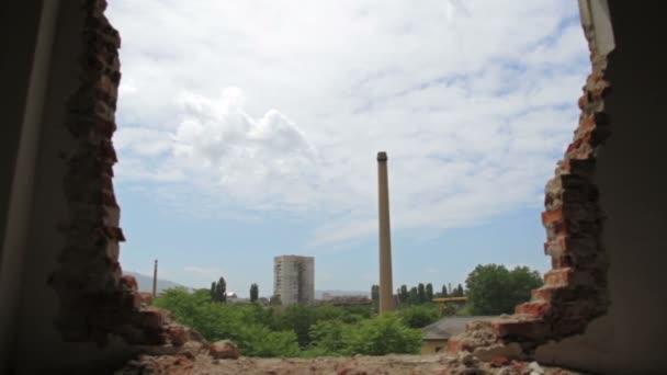 staré opuštěné továrny