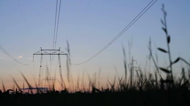 Energie-Industrie-Hintergrund