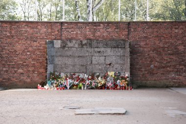 Execution wall, Auschwitz