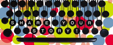 Share your story! on old keyboard