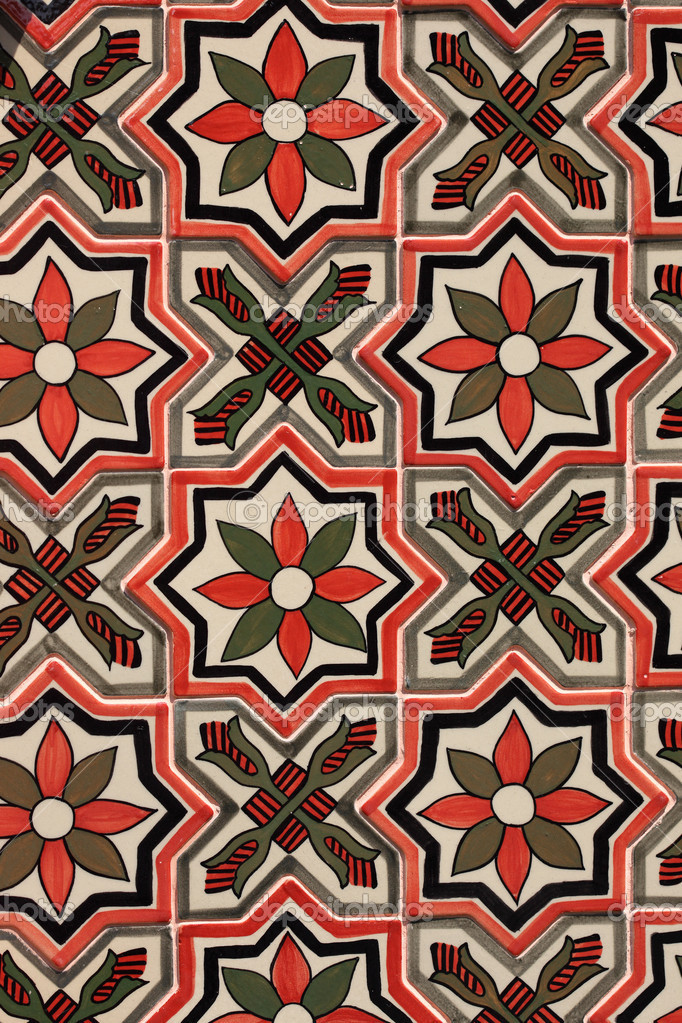 patron de carrelage marocain traditionnel tr s commun au maroc photographie tawintaew 32610737. Black Bedroom Furniture Sets. Home Design Ideas