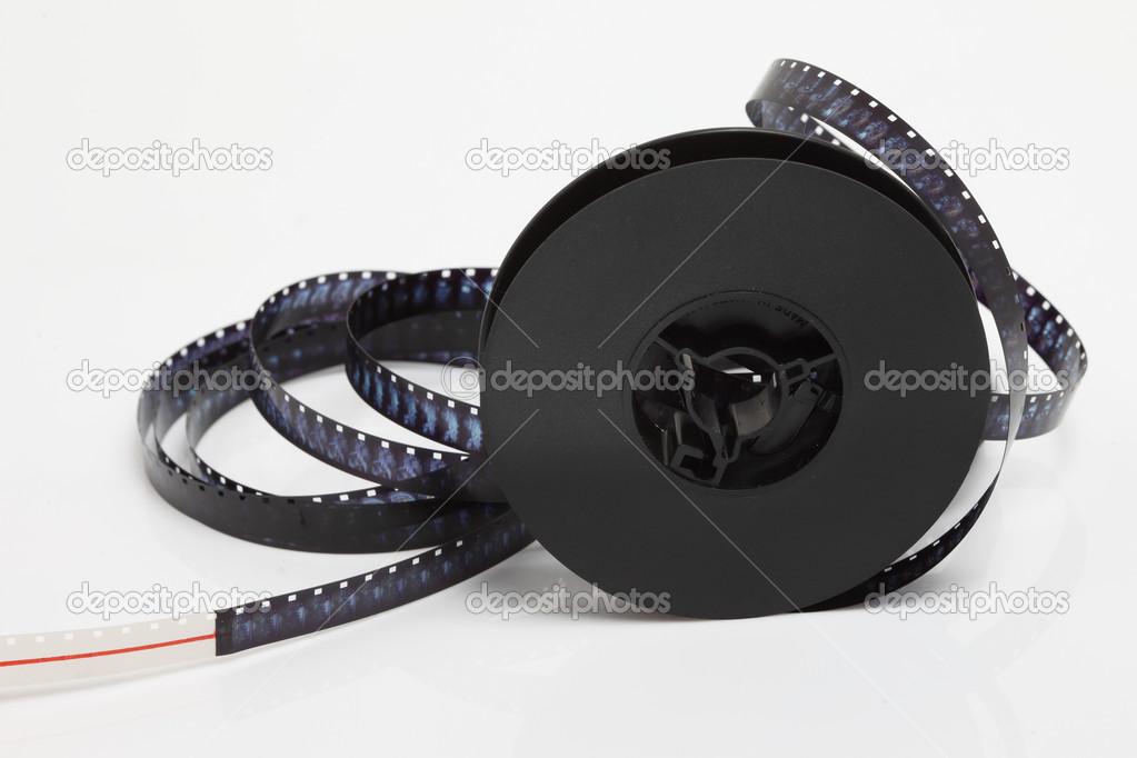 8 mm 映画用フィルムの静物 — ス...