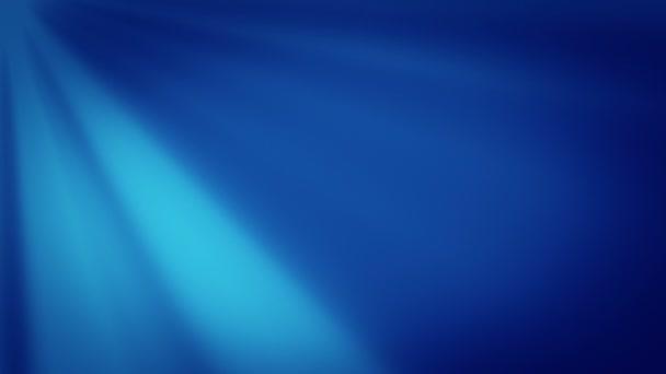 abstraktní pohybu modré pozadí, bezešvé smyčka animace