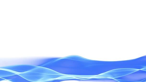 Dolní třetiny abstraktní mávala modrým pozadím, rozmazaný pohyb efekt